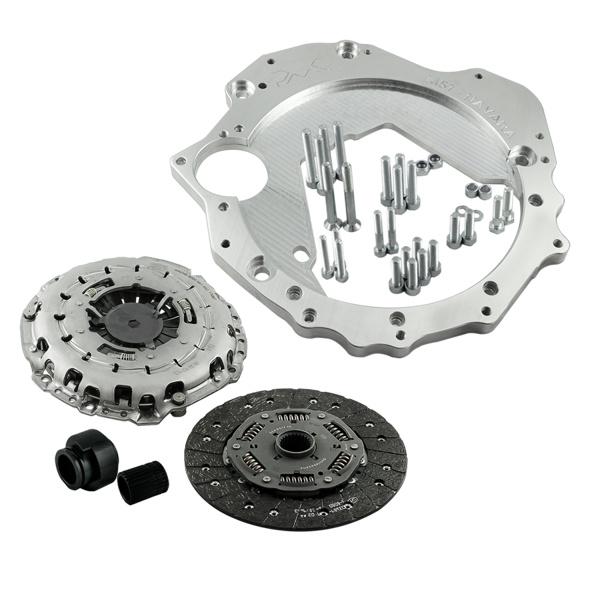Zestaw do konwersji / adapter BMW M57 - Nissan Navara YD25 DDTi - GRUBYGARAGE - Sklep Tuningowy